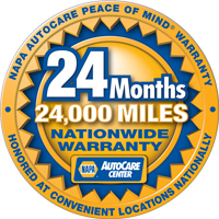 Napa Nationwide Warranty Logo